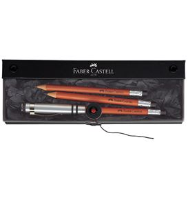 Faber-Castell - Perfect pencil DESIGN brown gift set